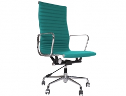 Image of the design chair Eames chair Alu EA119 - Blue