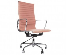 Image of the design chair Eames chair Alu EA119 - Pink