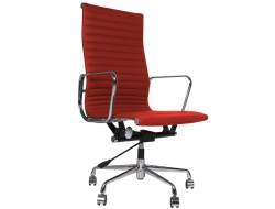Image of the design chair Eames chair Alu EA119 - Red