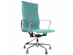 Image of the design chair Eames chair Alu EA119 - Sky blue
