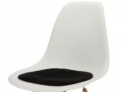 Image of the design chair Eames cushion - Black