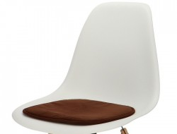 Image of the design chair Eames cushion - Dark Brown