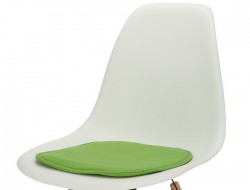 Image of the design chair Eames cushion - Green
