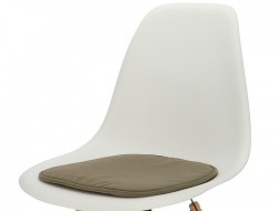 Image of the design chair Eames cushion - Grey