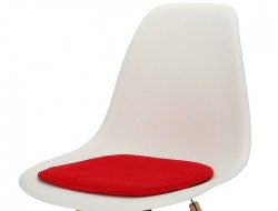 Image of the design chair Eames cushion - Red