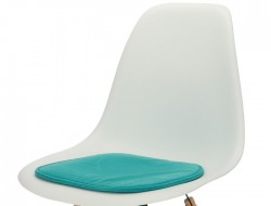 Image of the design chair Eames cushion - Turquoise