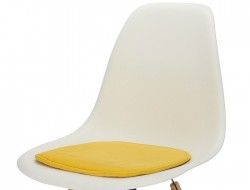 Image of the design chair Eames cushion - Yellow