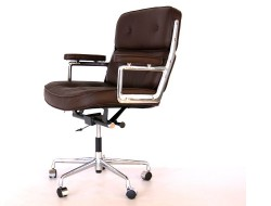 Image of the design chair Eames Lobby ES104 - Dark Brown