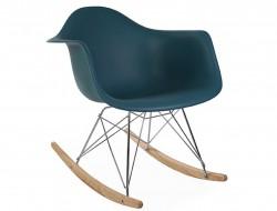 Image of the design chair Eames rocking chair RAR - Blue green
