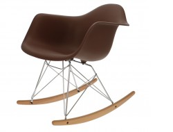 Image of the design chair Eames Rocking Chair RAR - Brown
