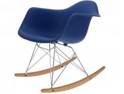Image of the design chair Eames Rocking Chair RAR - Dark blue