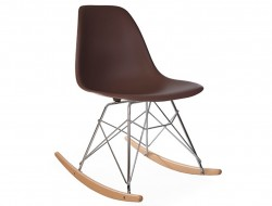 Image of the design chair Eames Rocking Chair RSR - Coffee