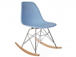 Image of the design chair Eames Rocking Chair RSR - Light blue