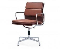 Image of the design chair Eames Soft Pad EA208 - Cognac