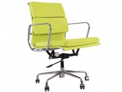 Image of the design chair Eames Soft Pad EA217 - Lemon green
