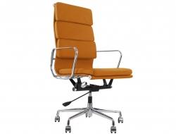 Image of the design chair Eames Soft Pad EA219 - Havana