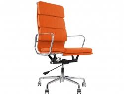 Image of the design chair Eames Soft Pad EA219 - Orange