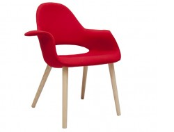 Image of the design chair Eero Aarnio Organic Chair - Red