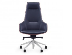 Image of the design chair Ergonomic 1903H Office Chair - Navy Blue