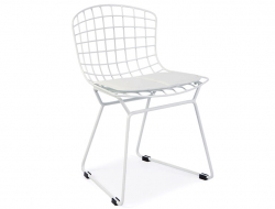 Image Of The Design Chair Kids Bertoia Wire Side Chair   White