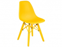 Image of the design chair Kids Chair DSW Color - Yellow