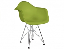 Image of the design chair Kids Chair Eames DAR - Green