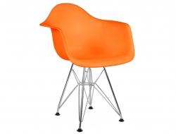 Image of the design chair Kids Chair Eames DAR - Orange
