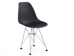 Image of the design chair Kids Chair Eames DSR - Black