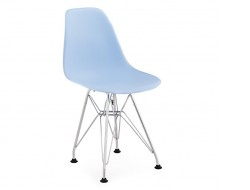 Image of the design chair Kids Chair Eames DSR - Blue