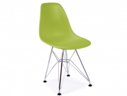 Image of the design chair Kids Chair Eames DSR - Green