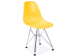 Image of the design chair Kids Chair Eames DSR - Yellow
