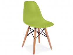 Image of the design chair Kids Chair Eames DSW - Green