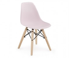 Image of the design chair Kids Chair Eames DSW - Pink