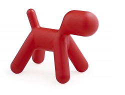Image of the design chair Kids Chair Puppy - Red
