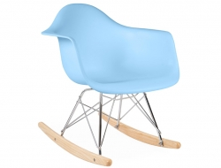 Image Of The Design Chair Kids Eames Rocking Rar Blue With Chaise
