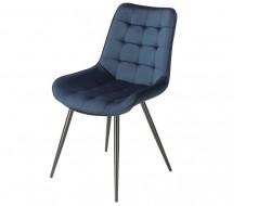 Image of the design chair Orville Chair Lisboa - Blue Velor