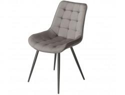 Image of the design chair Orville Chair Lisboa - Grey Velor