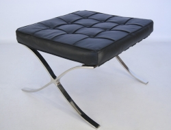 Image of the design chair Ottoman Barcelona - Black
