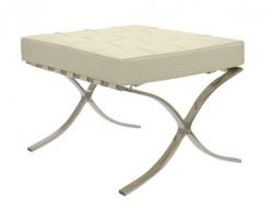 Image of the design chair Ottoman Barcelona - Cream White