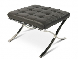 Image of the design chair Ottoman Barcelona - Dark grey