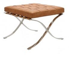 Image of the design chair Ottoman Barcelona - Premium Vintage Cognac