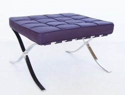 Image of the design chair Ottoman Barcelona - Purple