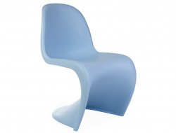 Image of the design chair Panton chair - Blue