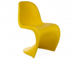 Image of the design chair Panton chair - Yellow