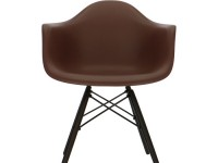 Image of the design chair COSY wooden Eames chair - Brown