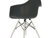 Image of the design chair DAW chair - Anthracite