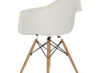 Image of the design chair DAW Eames chair - White