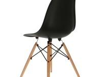 Image of the design chair DSW Eames chair - Black