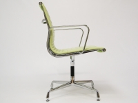 Image of the design chair Visitor chair EA108 - Lemon green