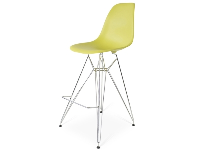 Image of the design chair Bar chair DSR - Olive green